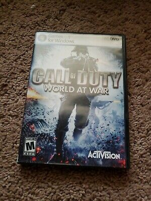 Call of Duty: World at War (PC, 2008) Auction/NR/Fast Free Ship