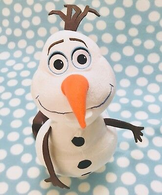 """DISNEY Authentic Officially Licensed Frozen OLAF Plush  Backpack - 17"""" PRE OWNED"""