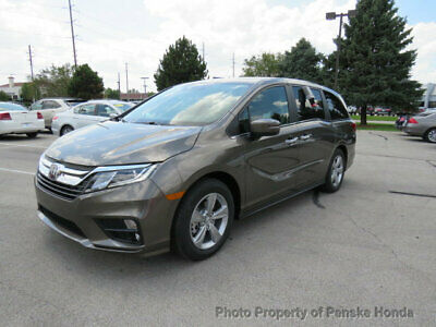 2019 Honda Odyssey EX Automatic EX Automatic New 4 dr Van Automatic Gasoline 3.5L V6 Cyl Pacific Pewter Metallic