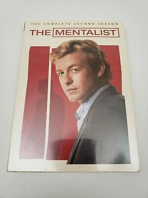 The Mentalist: The Complete Second 2nd Season 2 Two DVD Sealed Brand NEW