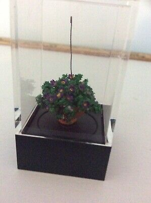 Large Split Leaf Plant in Pot dollhouse miniature plant DHS6456 1//12 scale