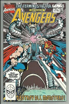 Avengers Annual #19 1990 The Terminus Factor! West Coast Avengers App! Beauty Nm