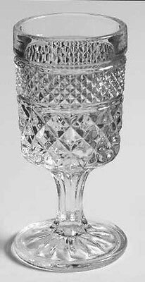 Wexford Wine Glass  Anchor Hocking-Crystal Discontinued Replacement Criss Cross