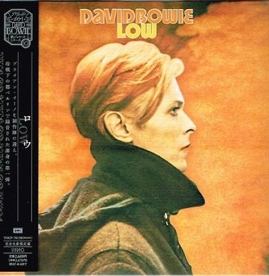 "David Bowie ""Low"" Japan Limited Mini-LP CD Paper Sleeve w/OBI"