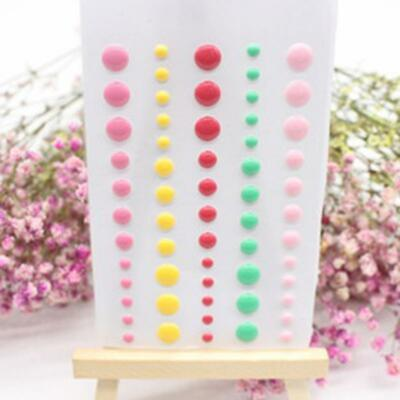 Enamel Dots Resin Scrapbooking Stickers DIY Crafts Sticky Cards Making New LJ