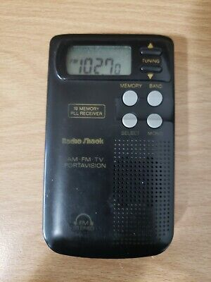 Radio Shack 12-174 AM/FM Portable Pocket Radio - Spirit Box - See Details