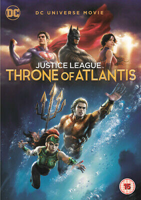 Justice League: Throne of Atlantis DVD (2018) Ethan Spaulding cert 15