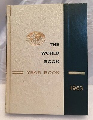 Vintage...THE WORLD BOOK ENCYCLOPEDIA...1963 YEARBOOK