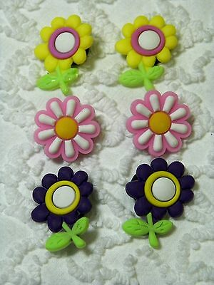New Croc Clog Plug Flowers Shoe Charms Will Also Fit Jibitz,Croc  C546