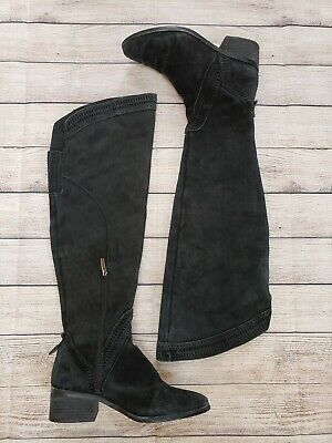 8711a2b832f NEW - VINCE Camuto - VP-Shianne2 - Over The Knee Boots - Black Suede ...