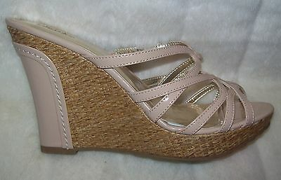 Charles David Rumor Leather Wedge shoe 7.5 10 9 $110.00