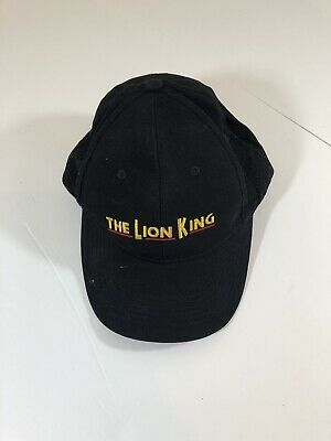 DISNEY THE LION King Black Hat Broadway Musical VIP Edition