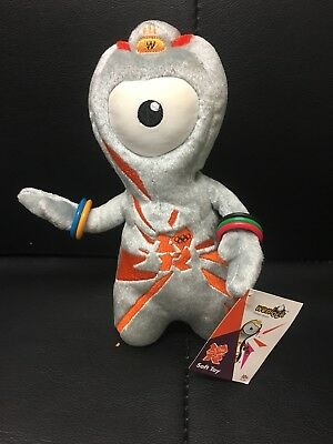 London Olympics Mandeville Cuddly Collectable With Tags Terrific Value London 2012 Sports Memorabilia