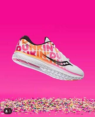 94c005d4 Saucony Kinvara 10 Boston Marathon 2019 Dunkin Donuts Mens Size 12 SOLD out