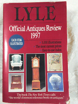 Lyle Official Antique Review by Anthony Curtis 1997 Paperback Collectible Guide