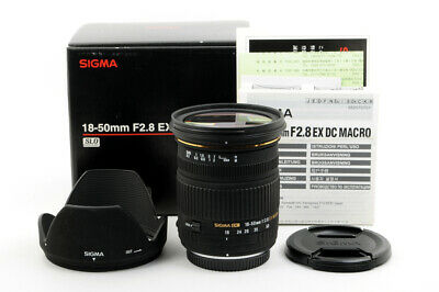 SIGMA AF 18-50mm F2.8 EX DC MACRO For Four Thirds Mount OLYMPUS From Japan #2926
