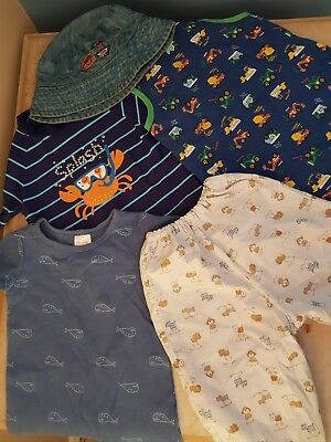 Baby Boy clothes, size 0, 5 items in total