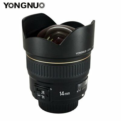 Yongnuo YN14mm 14mm F2.8 AF MF Ultra Wide Angle Prime Lens for Nikon DSLR