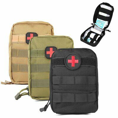 Nylon Tactical Molle Pouch Bag Medical First Aid Utility Emergency Survival Tool