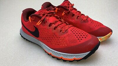brand new 11b69 568b8 Nike Air Zoom Terra Kiger 4 880563-600 University Red Black 8.5 Trail  Running