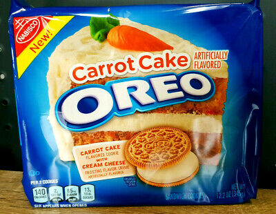 1 x Oreo Carrot Cake Cookies with Cream Cheese Frosting Pack - USA