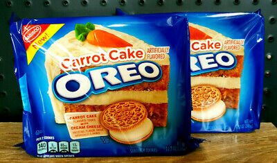 2 x Oreo Carrot Cake Cookies with Cream Cheese Frosting Pack - USA