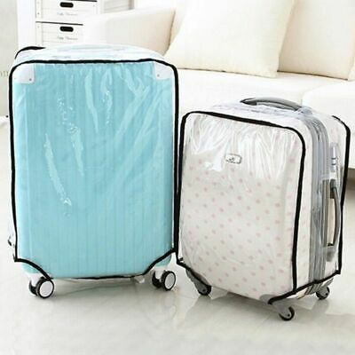 Clear Travel Luggage Suitcase Cover Waterproof Dustproof Rain Cover Protector AU