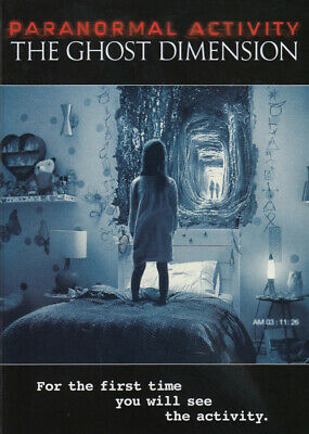 Paranormal Activity - The Ghost Dimension New DVD