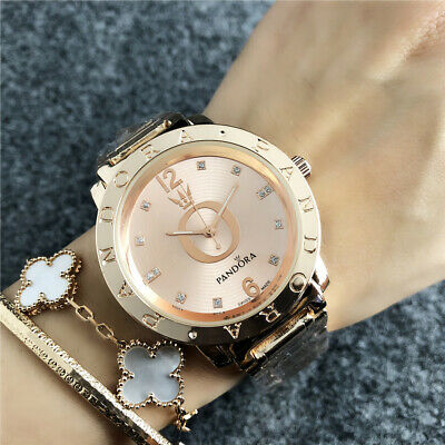 2019 New Women's Fashion Watch Stainless Steel PA Diamond Casual Wristwatch
