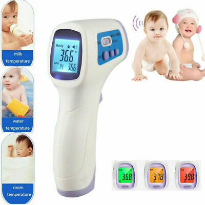 New Body Skin Digital Non-contact Infrared IR Thermometer For Baby Kids Adult US