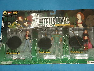 Very Rare:Witchblade Animated Exclusive Chicago 2003 Ltd Edition Sealed Conditio