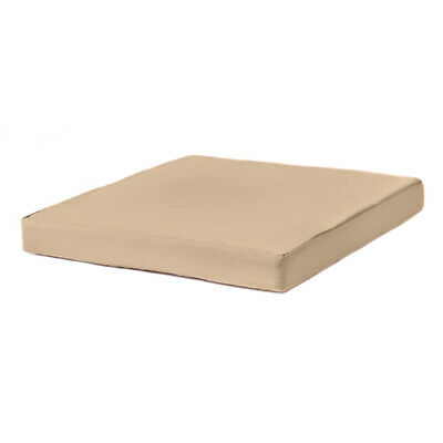 Stone 65cm x 65cm Seat Pad Rattan Furniture Replacement Cushion Water Resistant