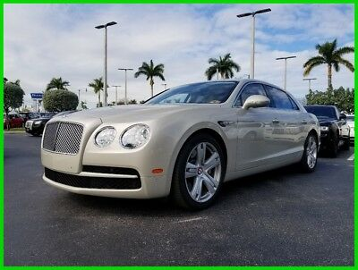 2015 Bentley Flying Spur V8 2015 V8 Used Turbo 4L V8 32V Automatic AWD Moonroof Premium