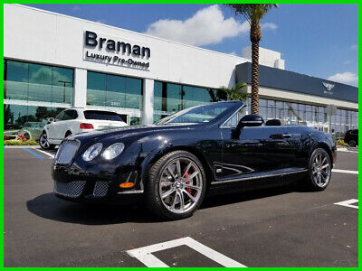 2011 Bentley Continental GT Speed 2011 Speed Used Turbo 6L W12 48V Automatic AWD