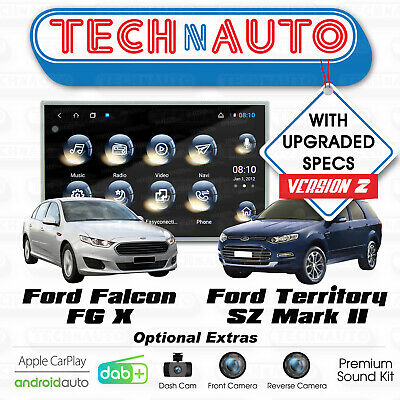 KAYHAN FORD FALCON FG MK1 08-11 Stereo Upgrade - Ford FG Android ICC