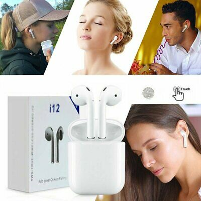 i10 i12 i11 TWS Bluetooth5.0 Earbuds Wireless Earphones Smart Touch Control 2019