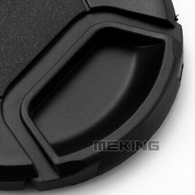 MEKING 62mm center pinch snap on Front Lens Cap Cover for Canon Nikon Sony