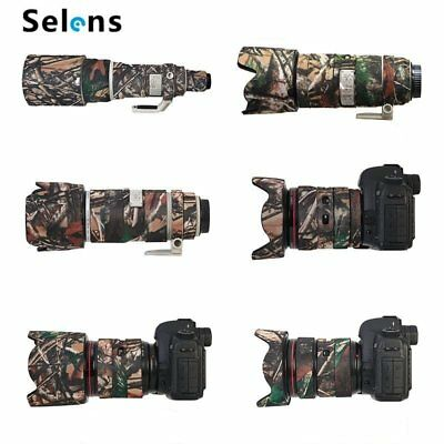 Photography Camo Waterproof Rubber Lens Protection Camouflage Coat Cover Outdoor