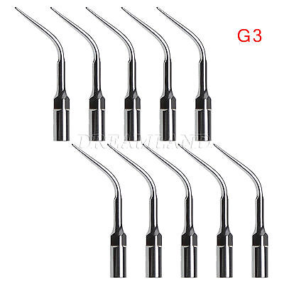 10PCS Dental Ultrasonic Scaler Scaling Tips G3 Tip Fit EMS Handpiece UK CE WW