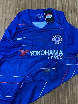 buy popular 513a5 f4c20 NEW NIKE CHELSEA FC Adult Home Kit 2018/19 ( Shirt + Short ) Size: L