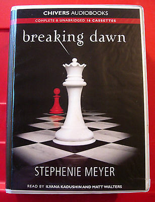 Stephenie Meyer Breaking Dawn Twilight #4 16-Tape UNABR.Audio Bk Ilyana Kadushin