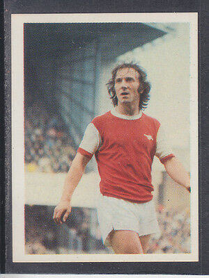 Panini Top Sellers - Football 77 - # 10 George Armstrong - Arsenal
