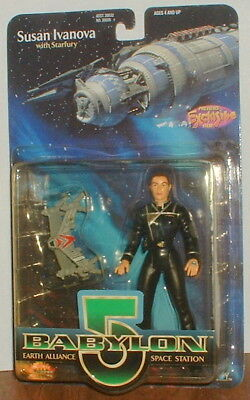 "Babylon 5 Susan Ivanova 6"" Action Figure 1997 New On Card Old Store Stock"