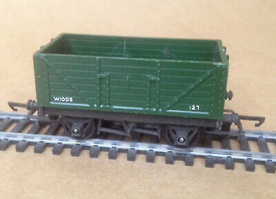 Triang 00 - R 10/13 Green Open 7 Plank 12 Ton Wagon   Good Used Condition (635)