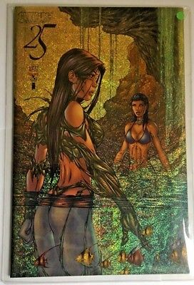 Top Cow Witchblade #25 Gold Speckles Cover! Fathom NM/Mint