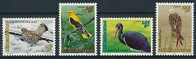 [H17426] Luxembourg 1992 BIRDS - Fauna Good set of stamps very fine MNH