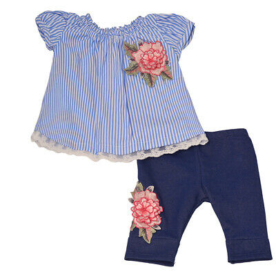 370b0dc30c7 BONNIE JEAN BABY Girls Royal Blue Bow Pleated Top 2 Pc Shorts Outfit ...