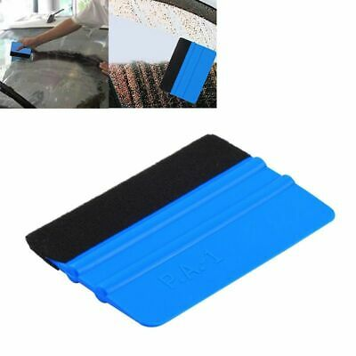 Portable Felt Edge Squeegee Car Vinyl Wrap Application Tool Scrap Push Helper