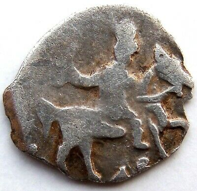 1537 Medieval Hammered Silver Coin Rare