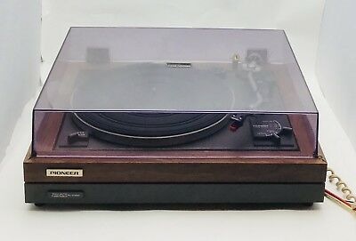 Pioneer PL-A45D Full Auto Turntable Record Player